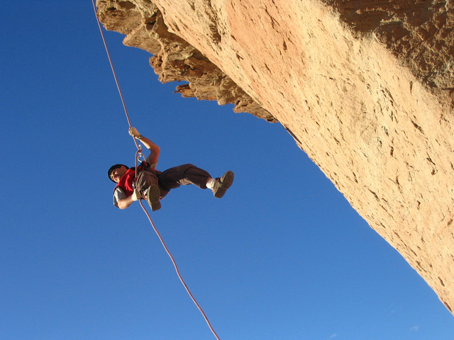 Rock Climbing, hypnosis helps motivation and positive change
