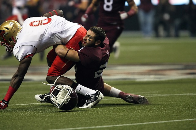 Football can lead to traumatic brain injury (TBI) also known as concussion